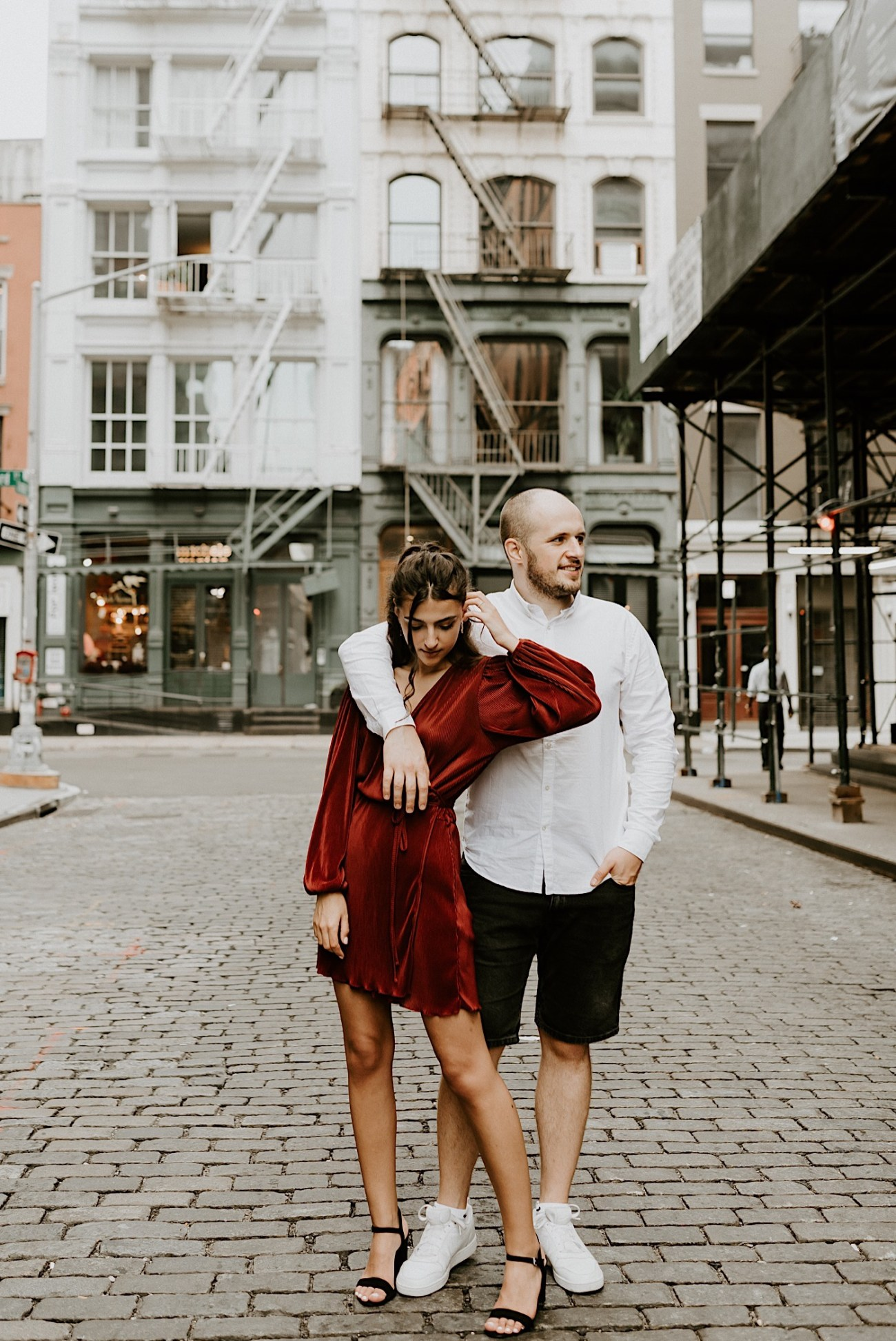 NYC Soho Couple Session Engagement Session NYC Wedding Photographer Manhattan Engaegement Locations 01
