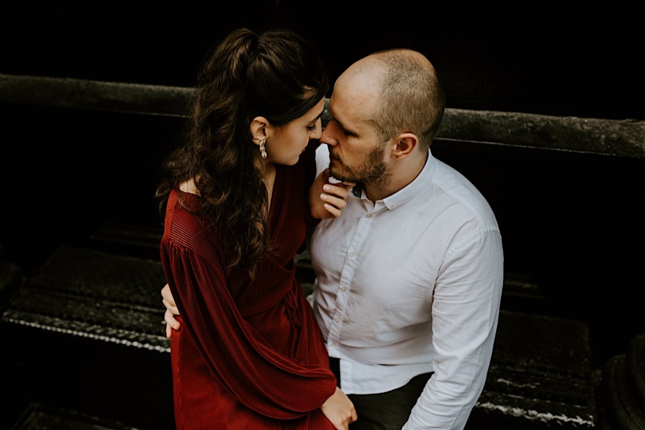NYC Soho Couple Session Engagement Session NYC Wedding Photographer Manhattan Engaegement Locations 08