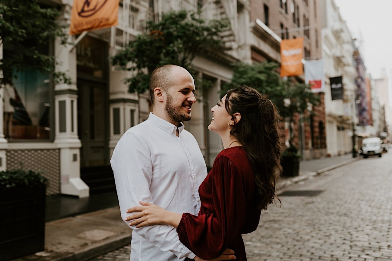 Soho Engagement Session NYC Wedding Photographer Manhattan Engaegement Locations 03