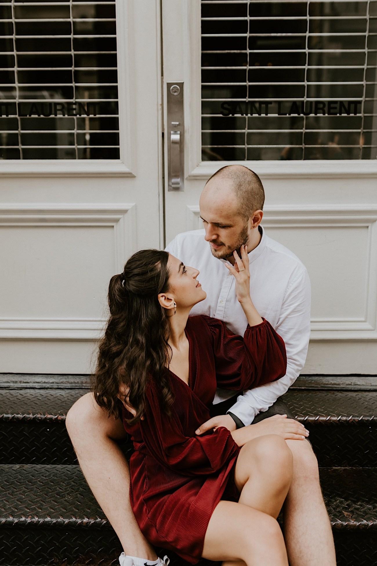 Soho Engagement Session NYC Wedding Photographer Manhattan Engaegement Locations 08