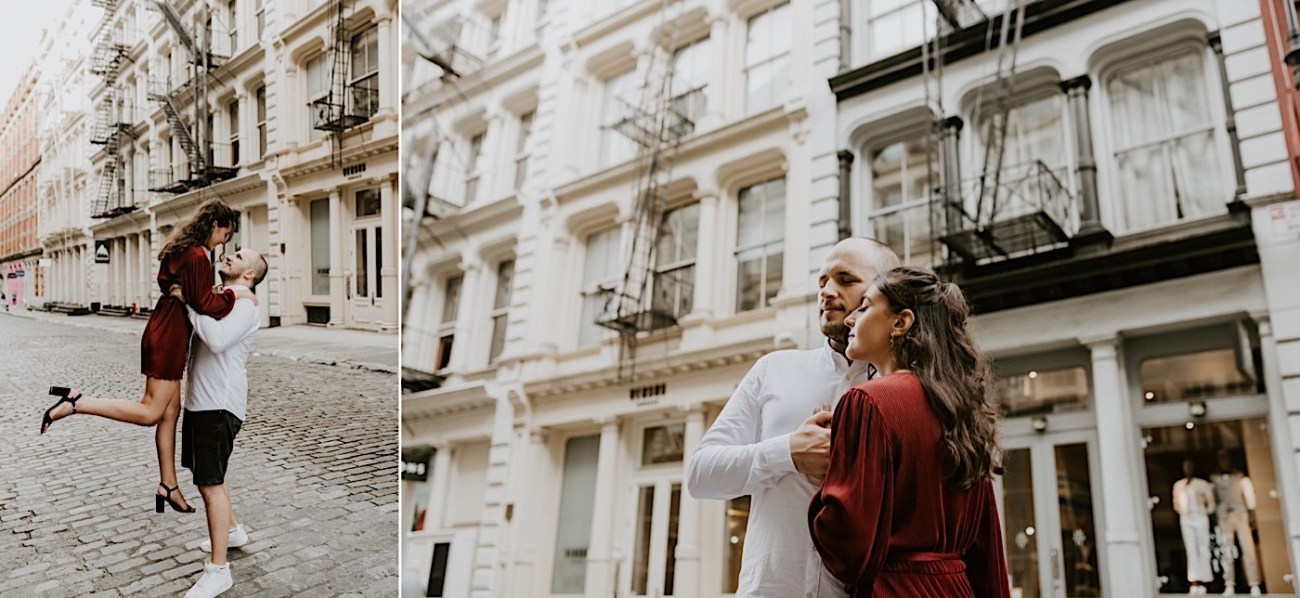Soho Engagement Session NYC Wedding Photographer Manhattan Engaegement Locations 09