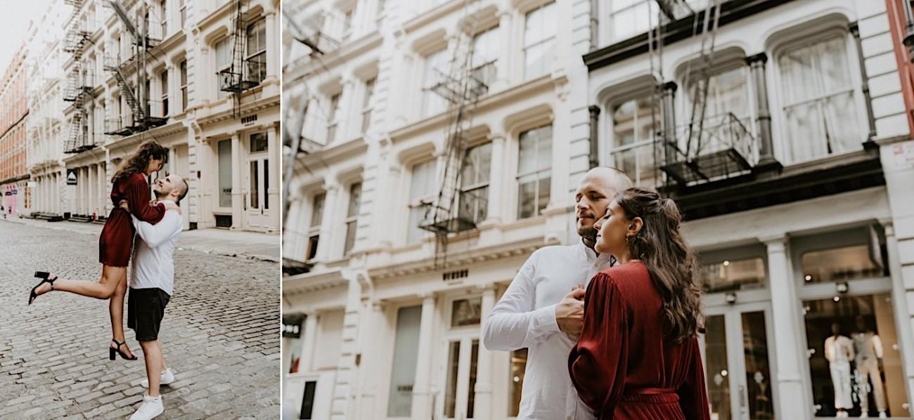 Soho Engagement Session NYC Wedding Photographer Manhattan Engaegement Locations 09