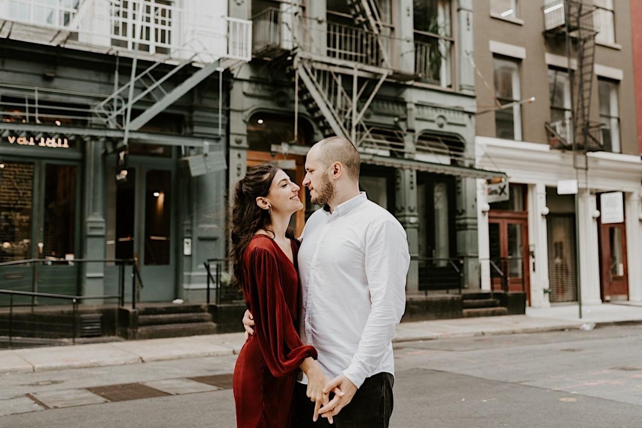 Soho Engagement Session NYC Wedding Photographer Manhattan Engaegement Locations 19