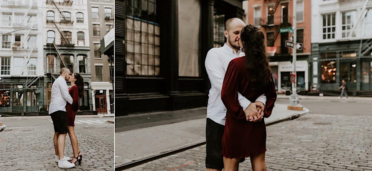 Soho Engagement Session NYC Wedding Photographer Manhattan Engaegement Locations 22