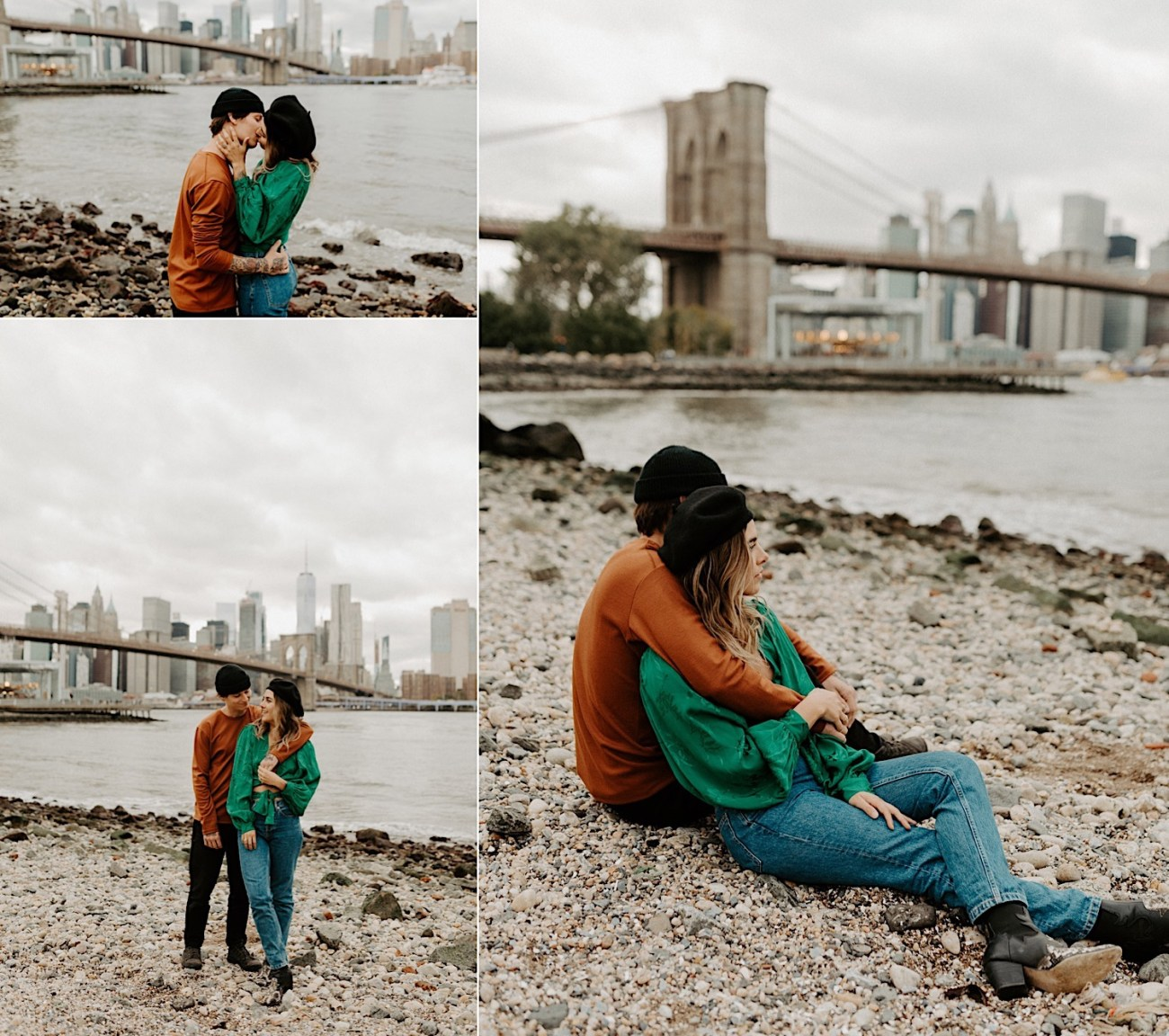 Brooklyn Dumbo Engagement Session Brooklyn Wedding Photographer 03