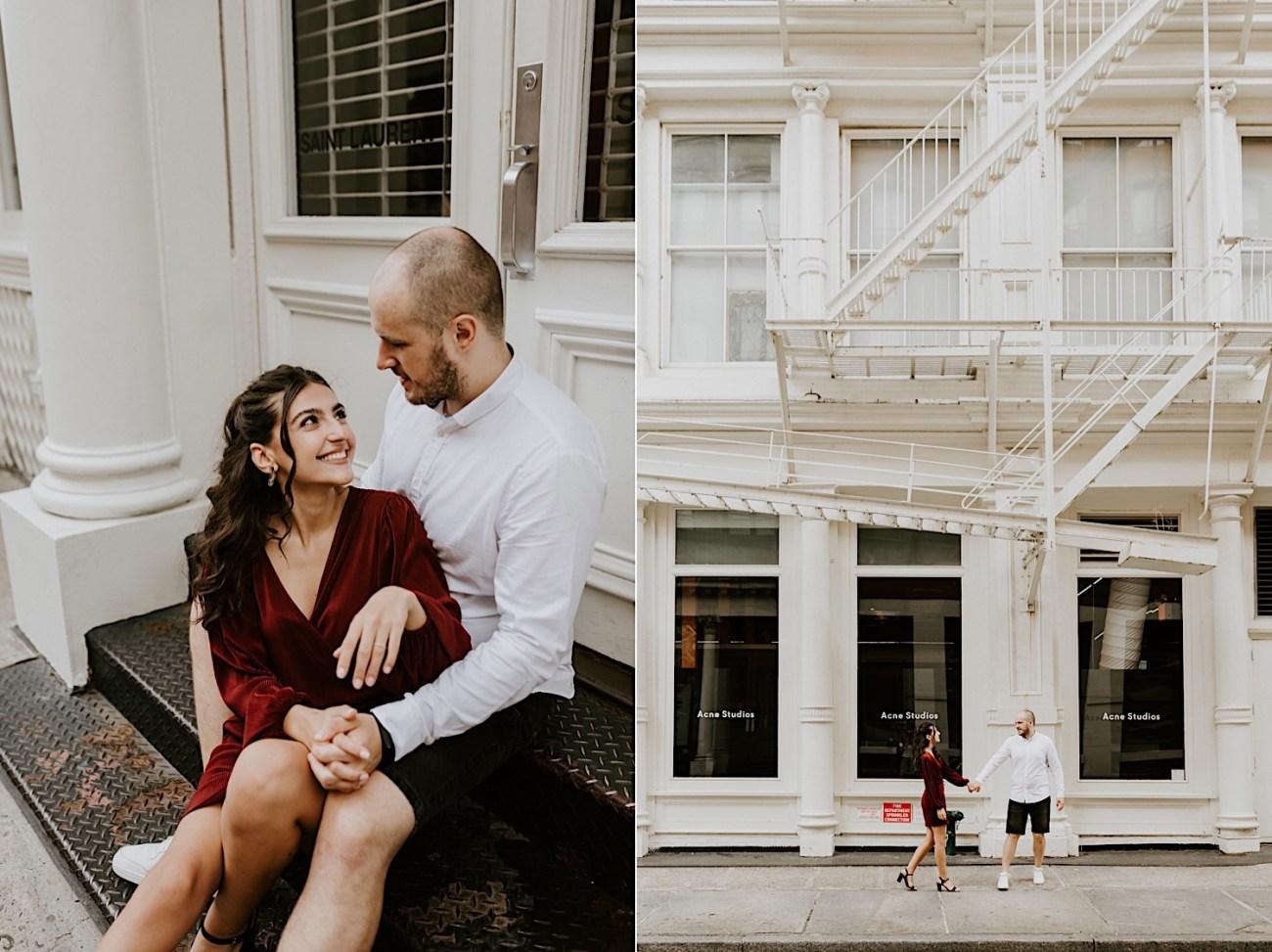 Soho Engagement Session New York Wedding Photographer 07