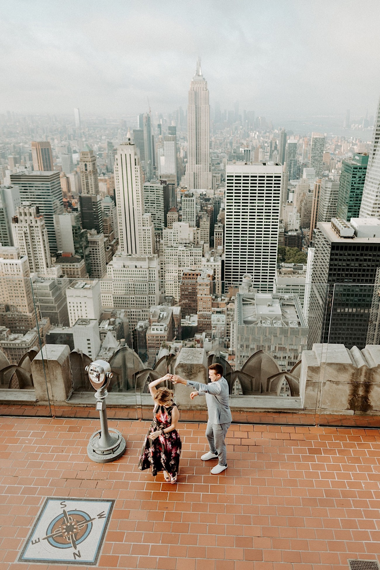 Top Of The Rock Engagement Session NYC Engagement Locations New York Wedding Photographer 04