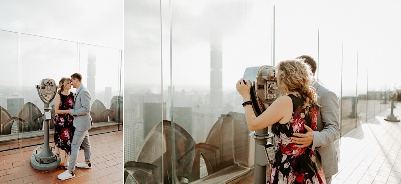 Top Of The Rock Engagement Session NYC Engagement Locations New York Wedding Photographer 07