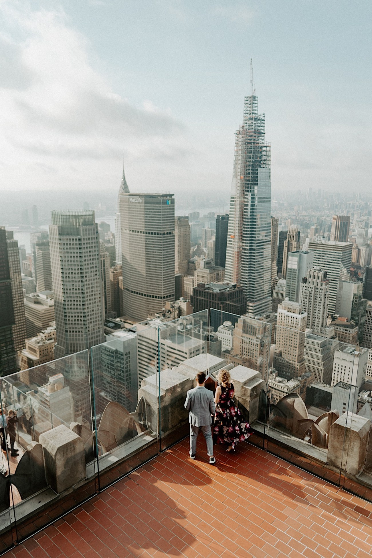 Top Of The Rock Engagement Session NYC Engagement Locations New York Wedding Photographer 17