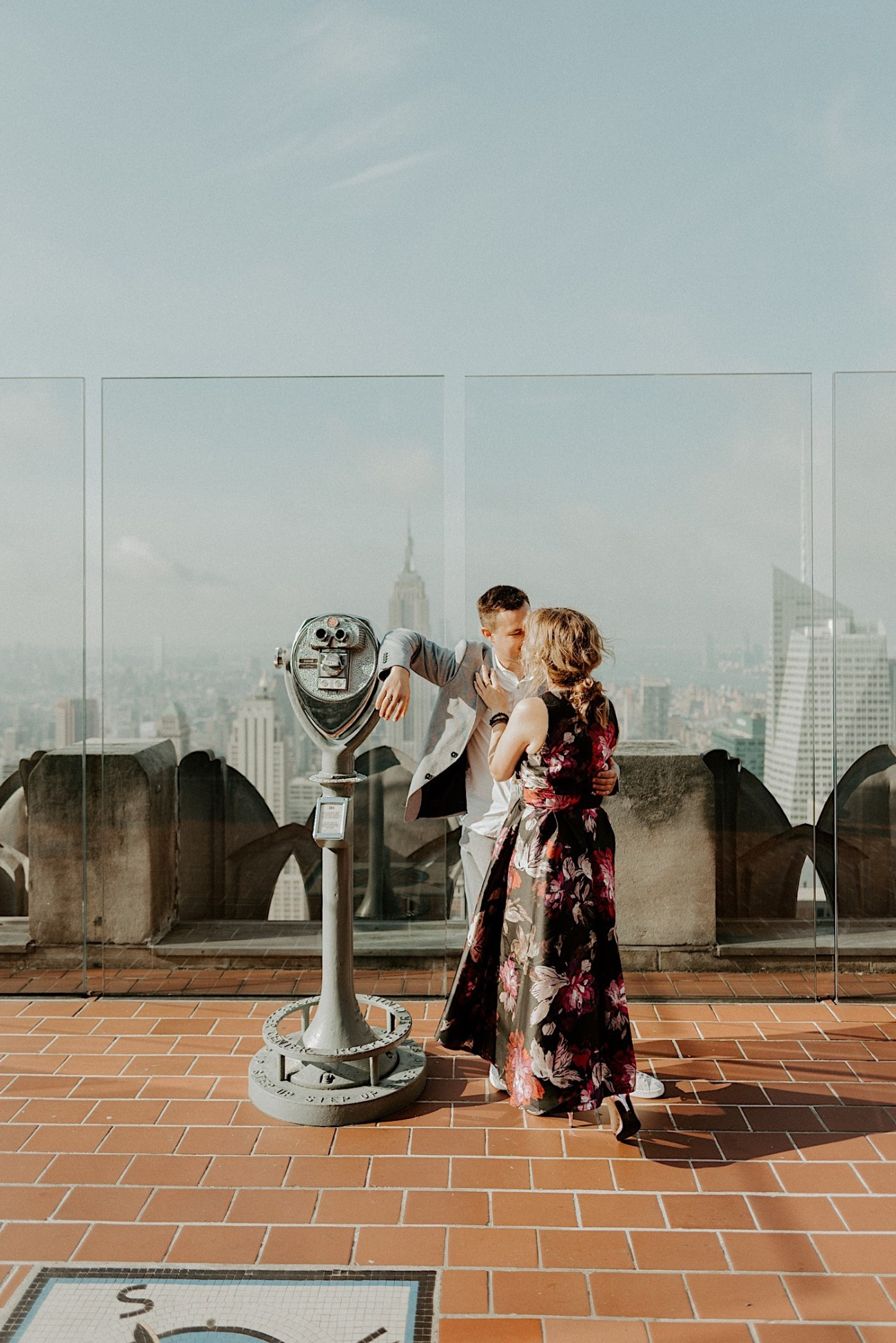 Top Of The Rock Engagement Session NYC Engagement Locations New York Wedding Photographer 22