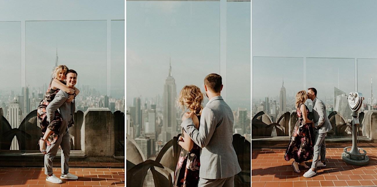 Top Of The Rock Wedding Anniversary NYC Engagement Locations New York Wedding Photographer 35