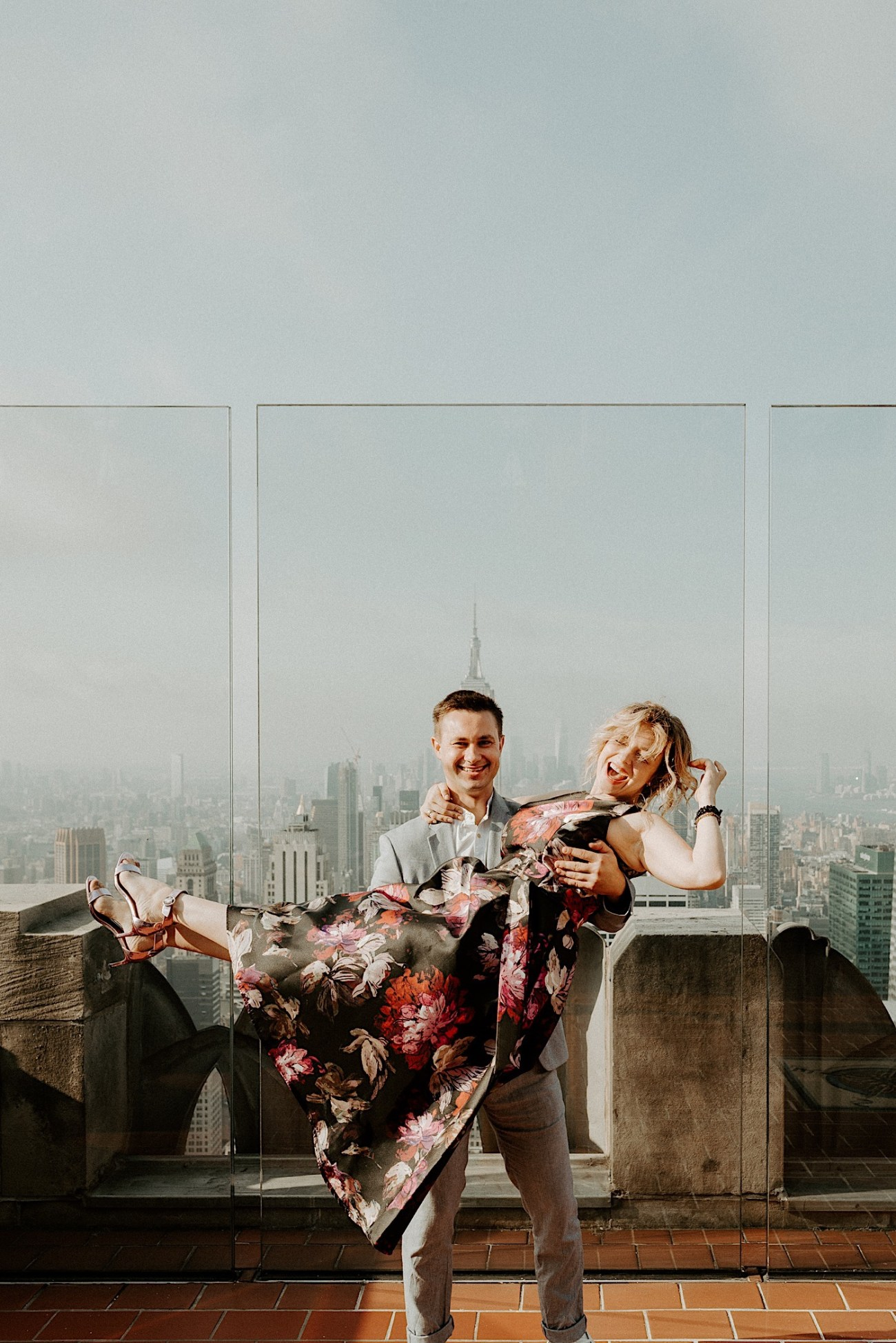 Top Of The Rock Wedding Anniversary NYC Engagement Locations New York Wedding Photographer 36
