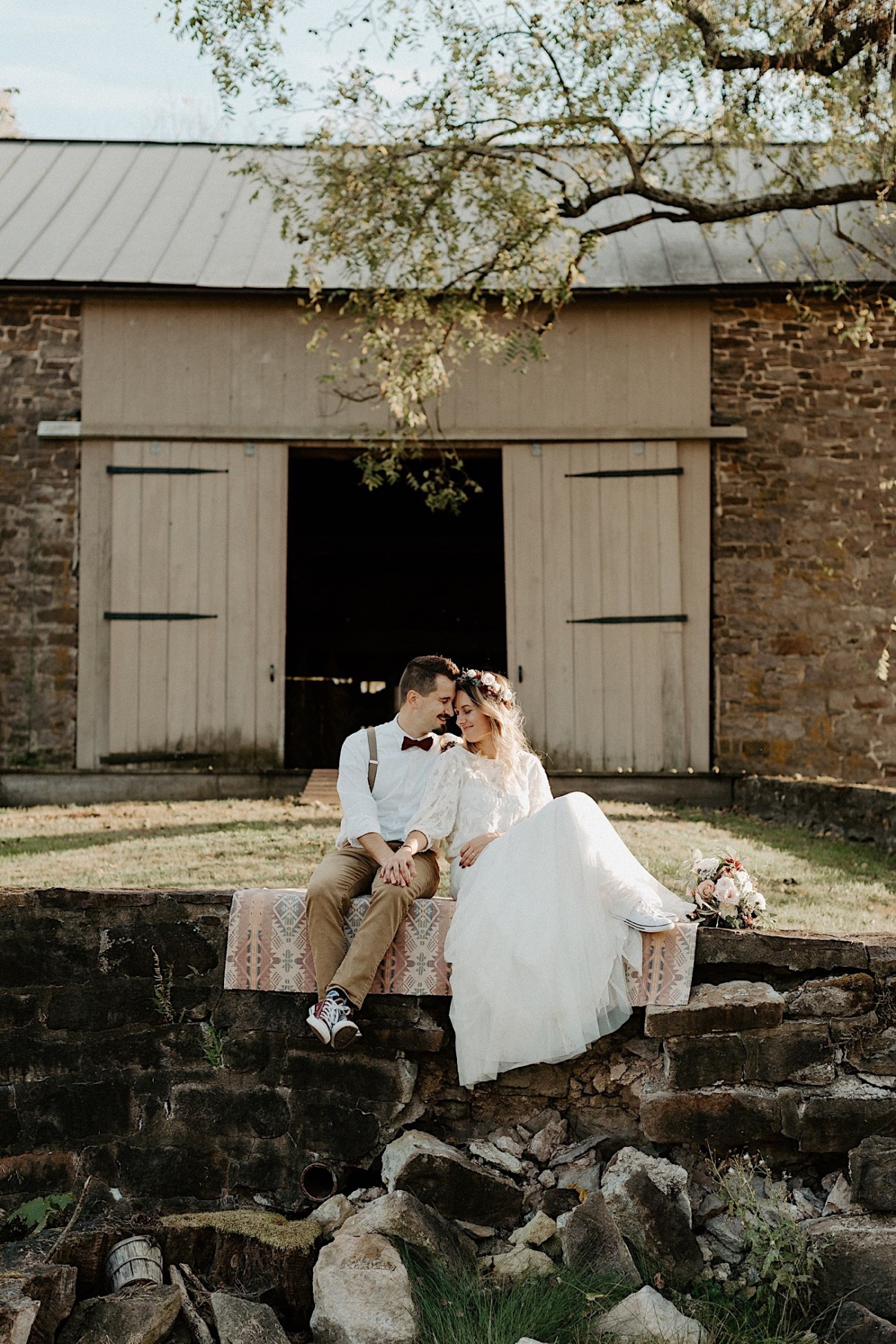 Woolverton Inn Elopement NJ Wedding Photographer Boho Wedding 027