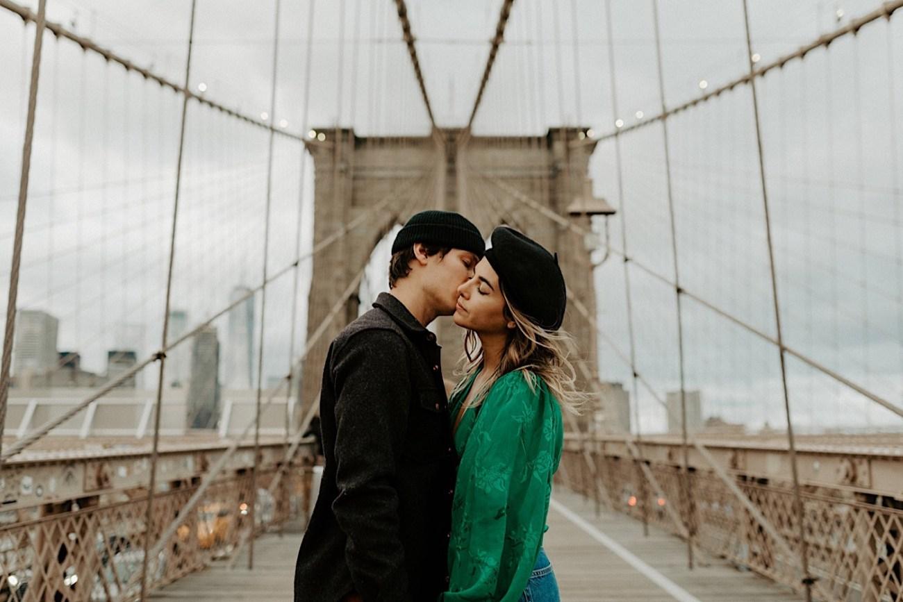 Brooklyn Bridge Engagement Photos Brooklyn Engagement Session 016