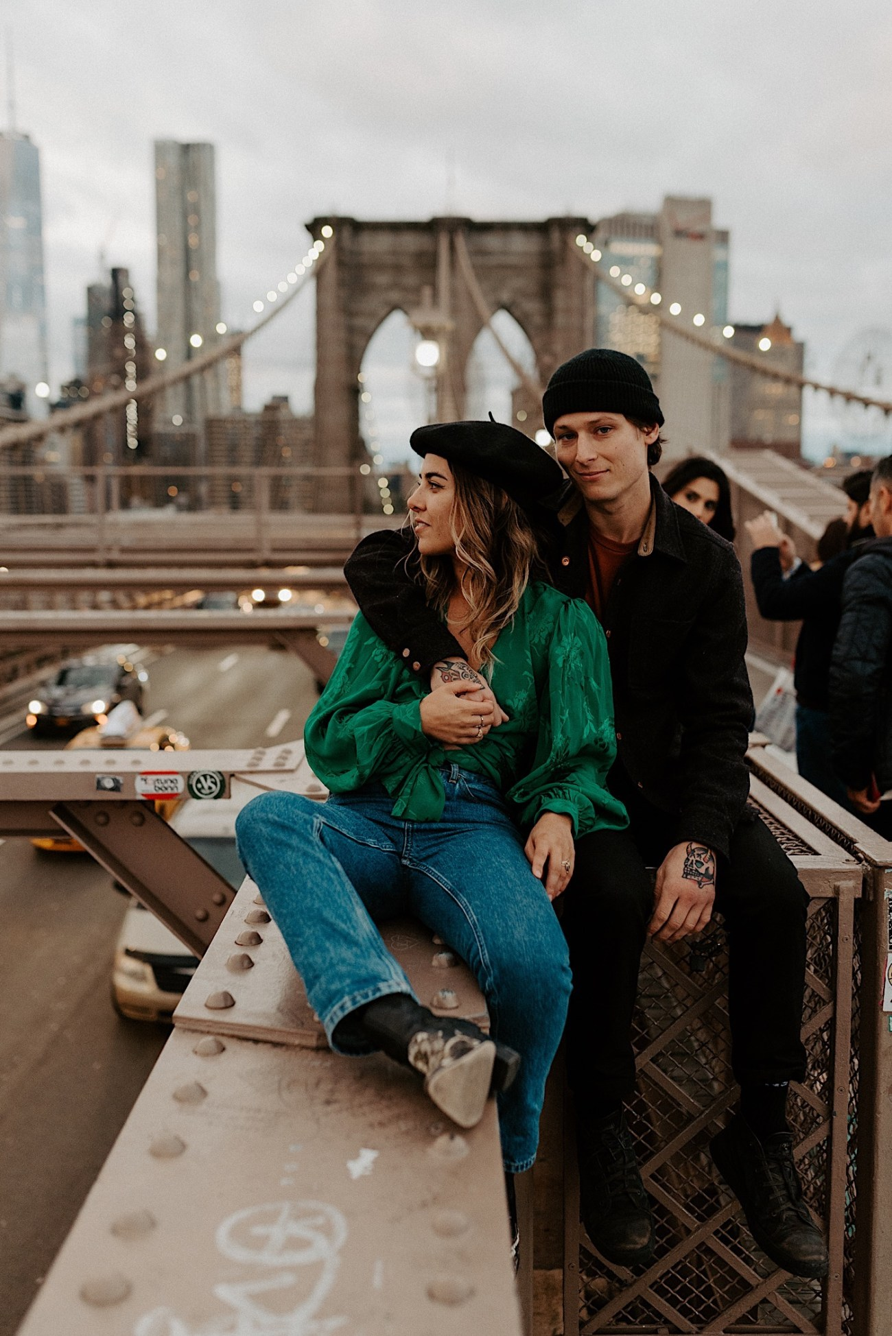 Brooklyn Bridge Engagement Photos Brooklyn Engagement Session 017