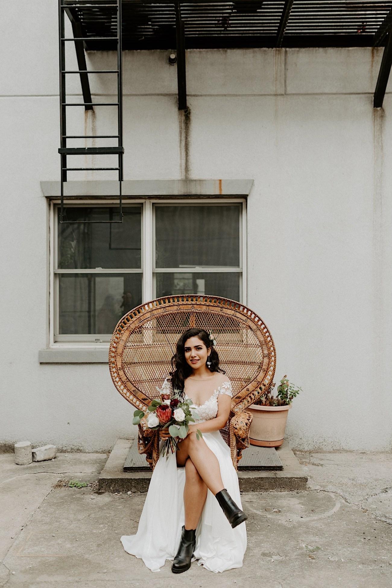 Brooklyn Elopement NYC Rooftop Wedding New York Wedding Photographer 008