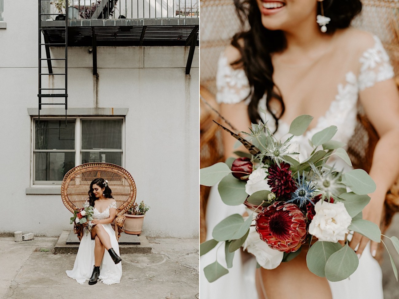 Brooklyn Elopement NYC Rooftop Wedding New York Wedding Photographer 009