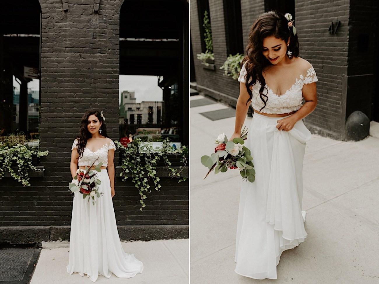 Brooklyn Elopement NYC Rooftop Wedding New York Wedding Photographer 012