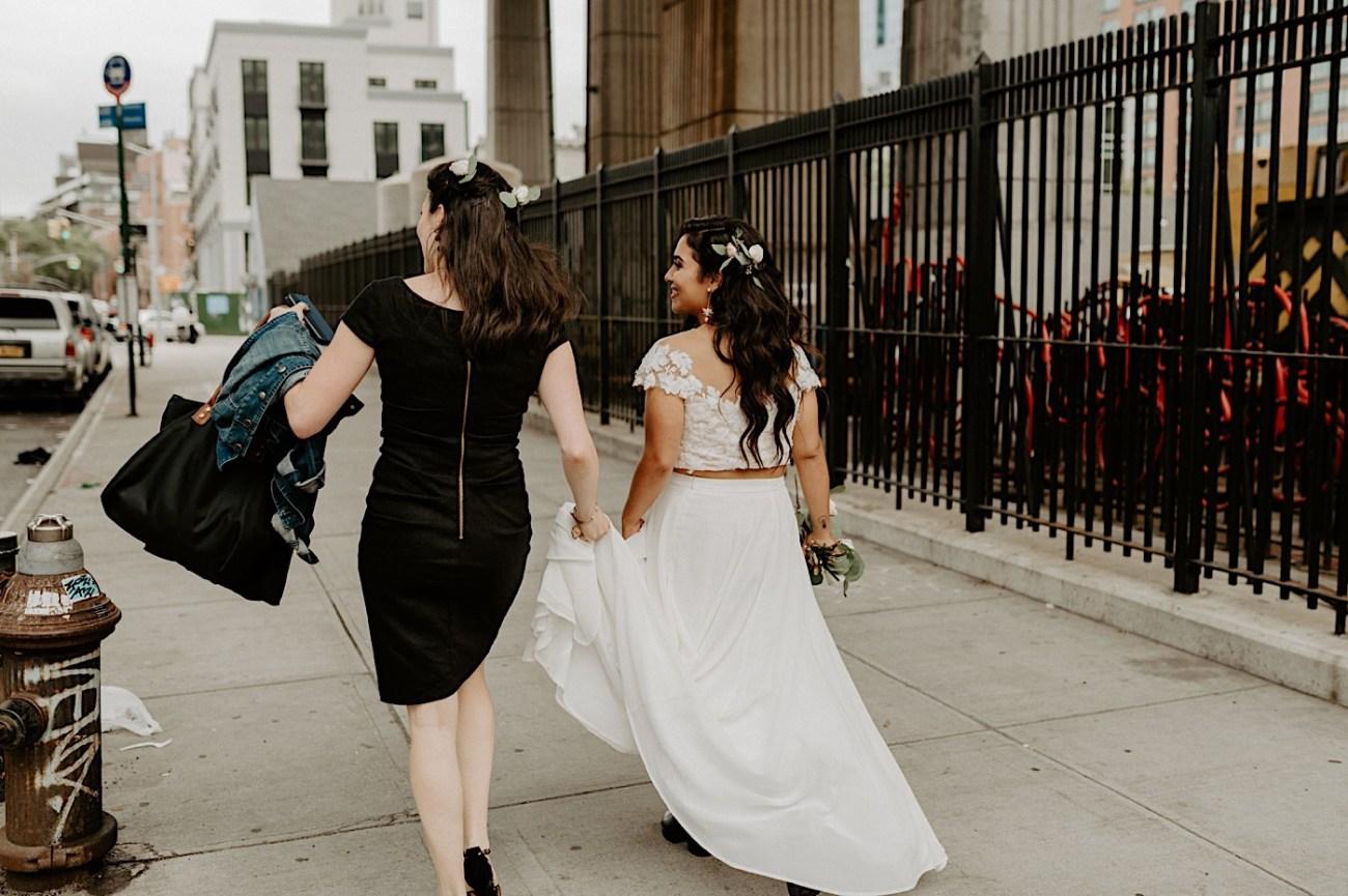 Brooklyn Elopement NYC Rooftop Wedding New York Wedding Photographer 013