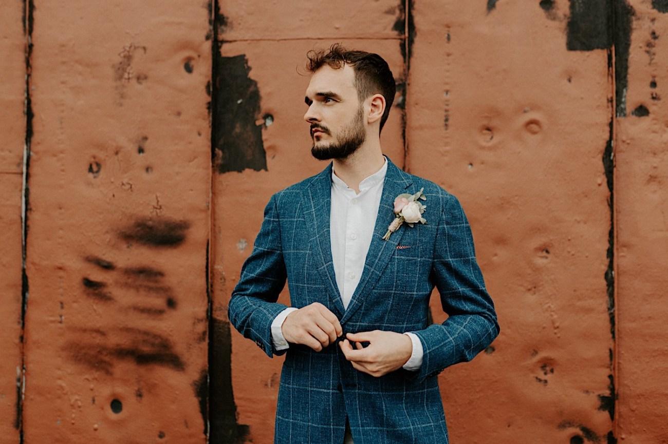 Brooklyn Elopement NYC Rooftop Wedding New York Wedding Photographer 036