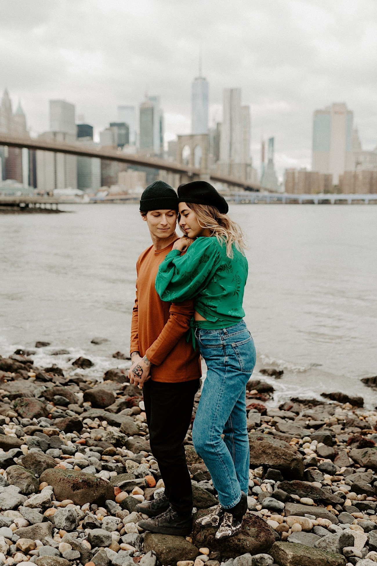 Dumbo Engagement Session New York Wedding Photographer 011