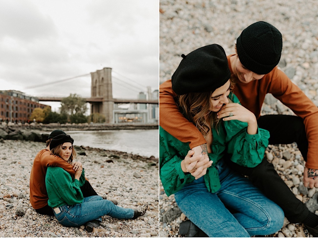 Dumbo Engagement Session New York Wedding Photographer 015