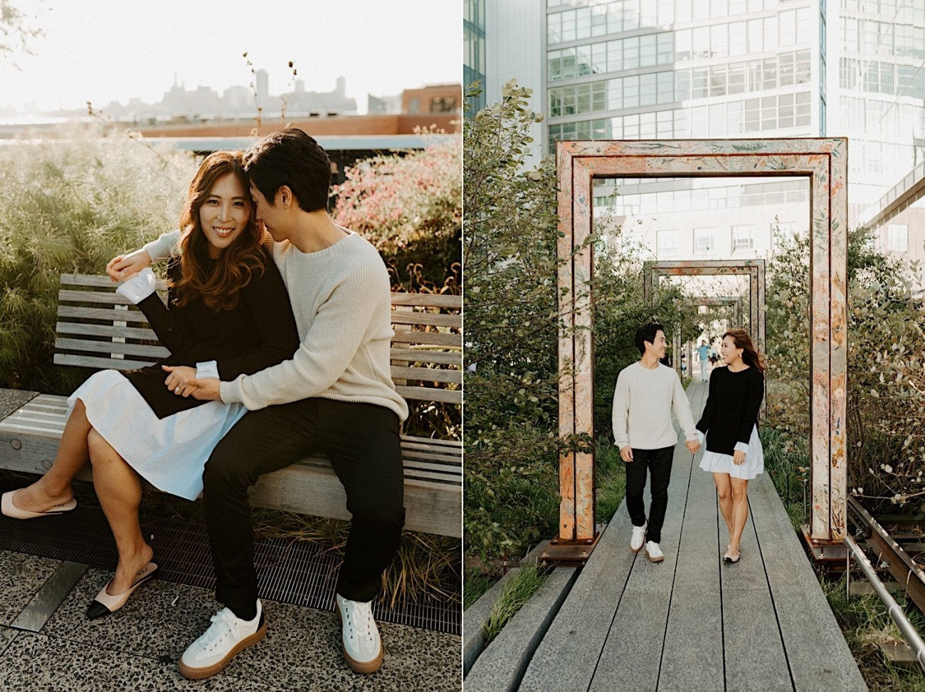 Highline NYC Engagement Session The Vessel Engagement Photos New York Wedding Photographer 04