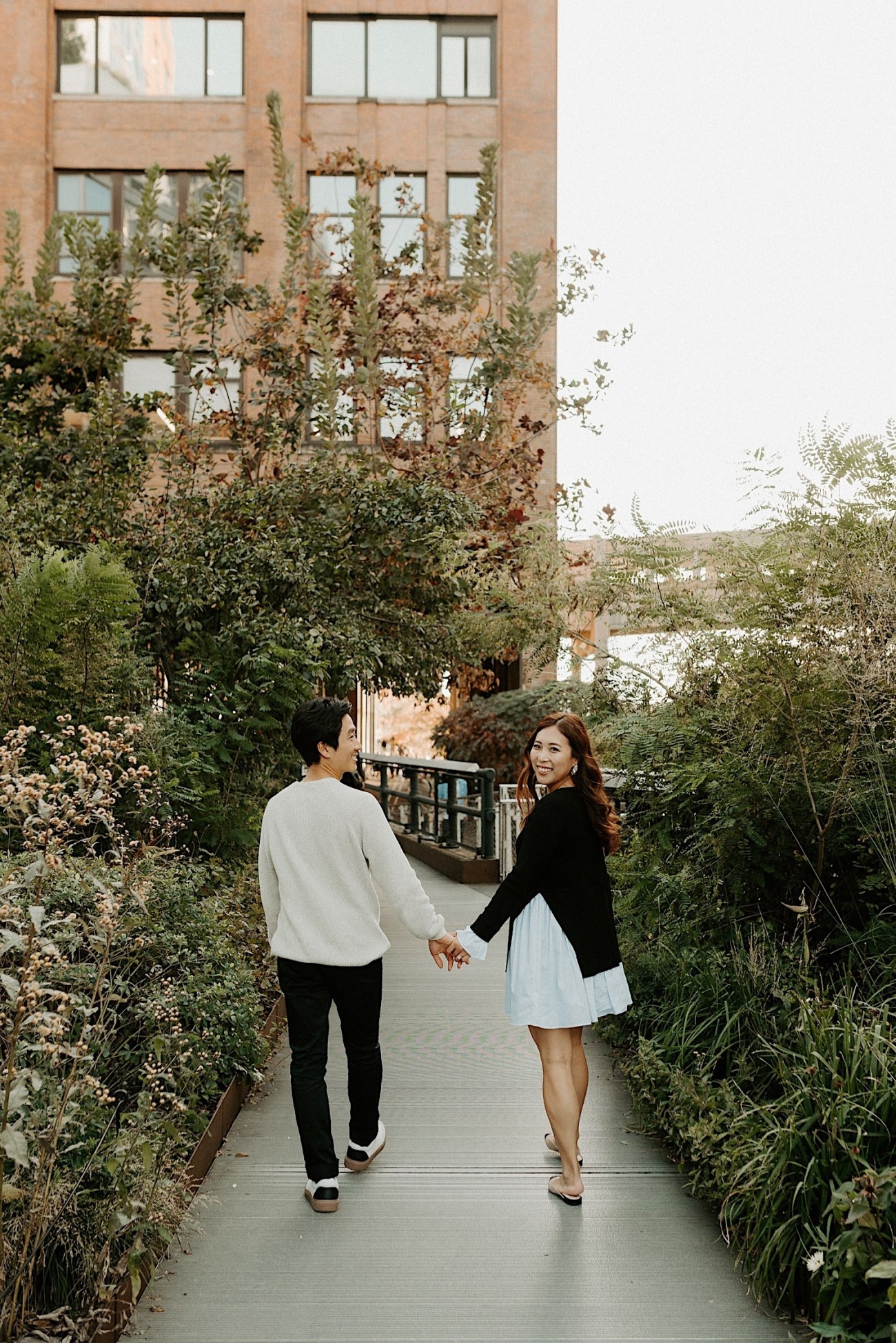 Highline NYC Engagement Session The Vessel Engagement Photos New York Wedding Photographer 10