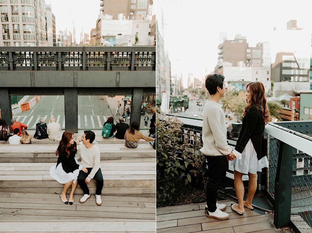 Highline NYC Engagement Session The Vessel Engagement Photos New York Wedding Photographer 13