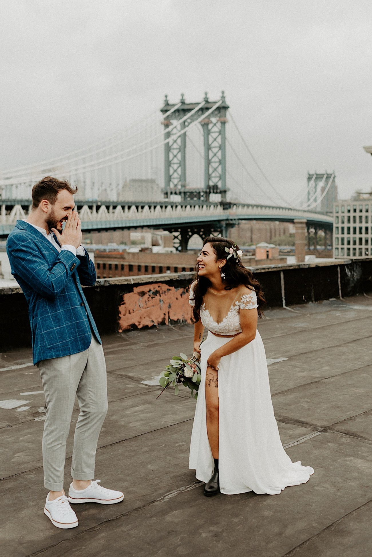 LIC Wedding Greenpoint Wedding LIC Elopement New York Wedding Photographer 078