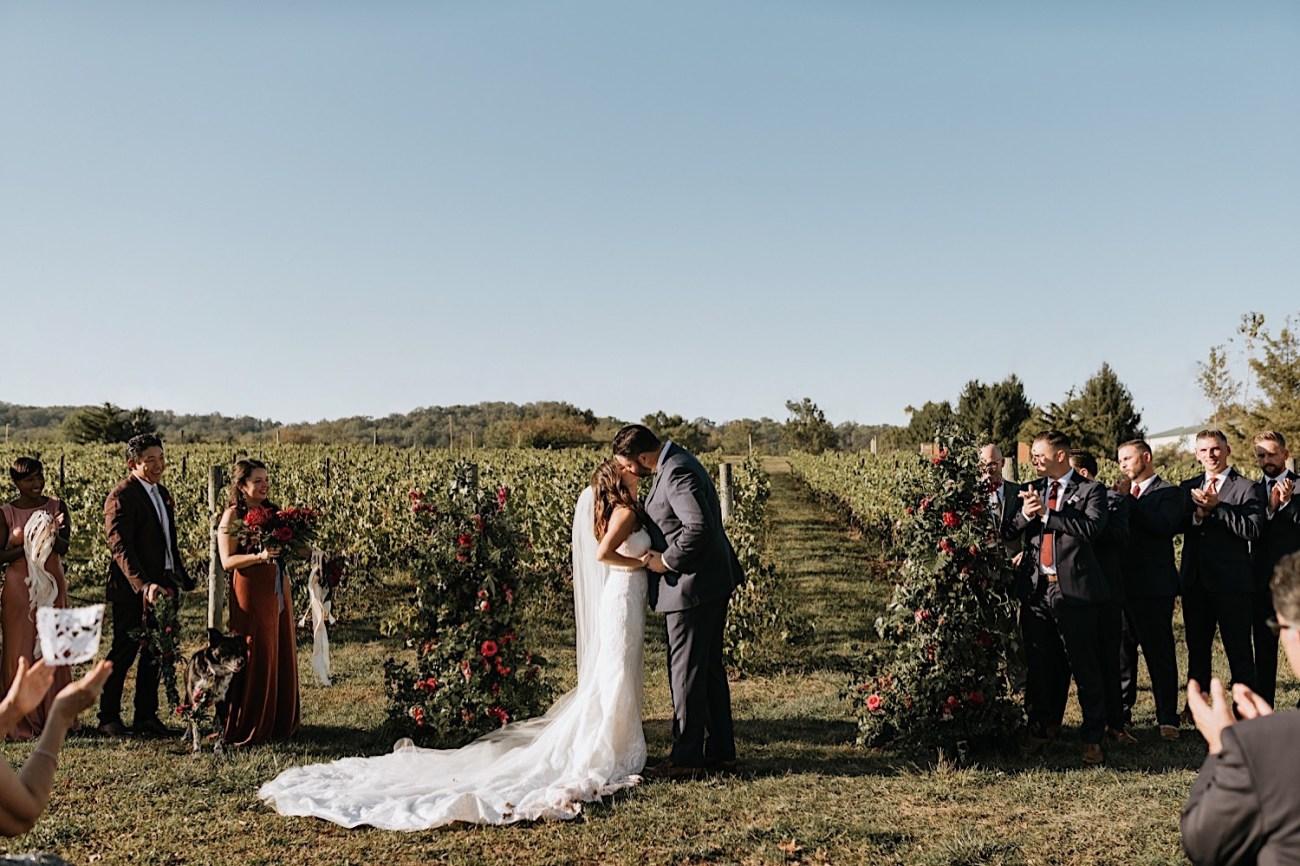 Hopewell Valley Vineyards Wedding New Jersey Wedding Photographer 08
