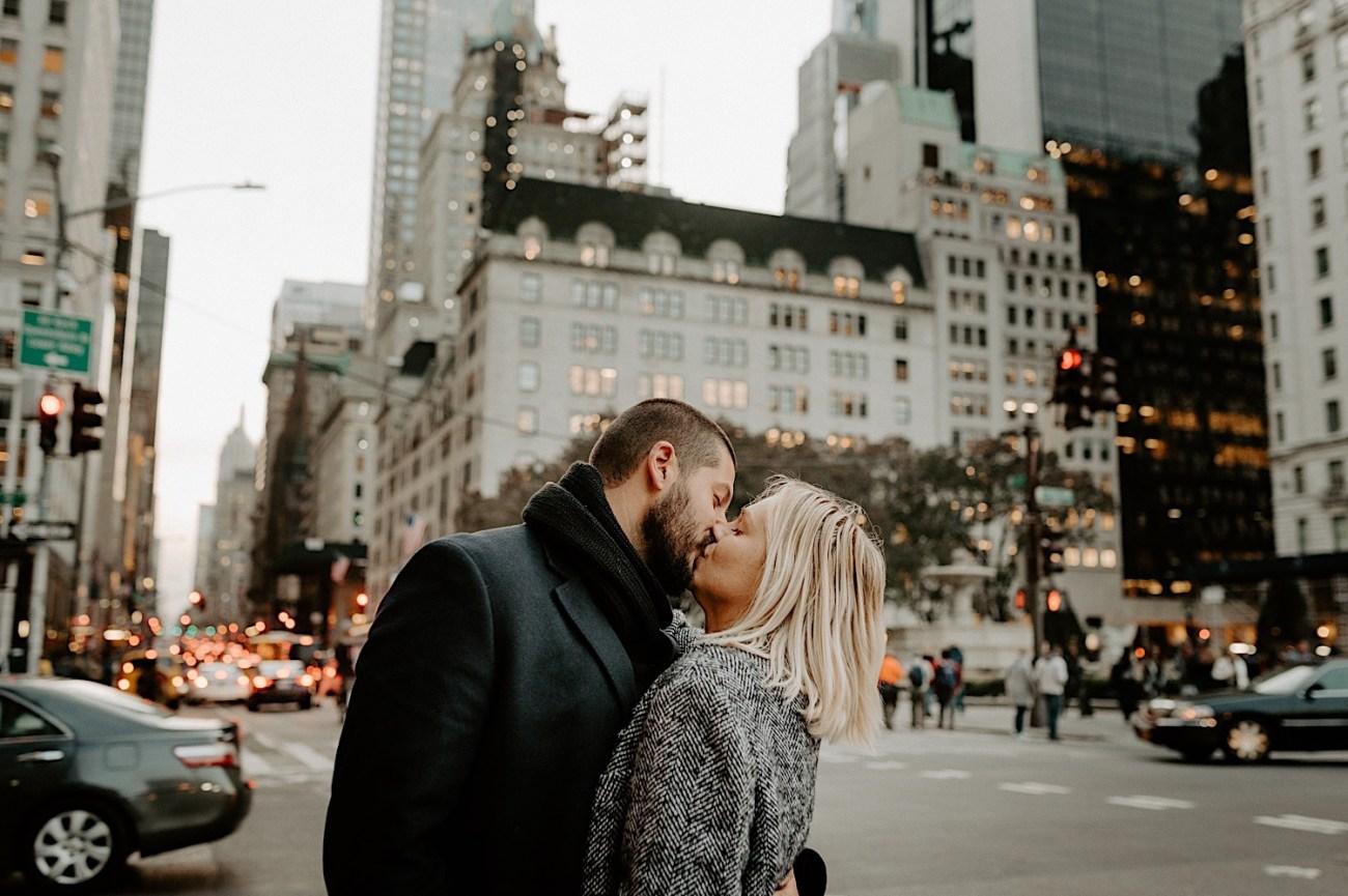Manhattan Engagement Photos NYC Wedding Photographer New York Elopement Photographer 10