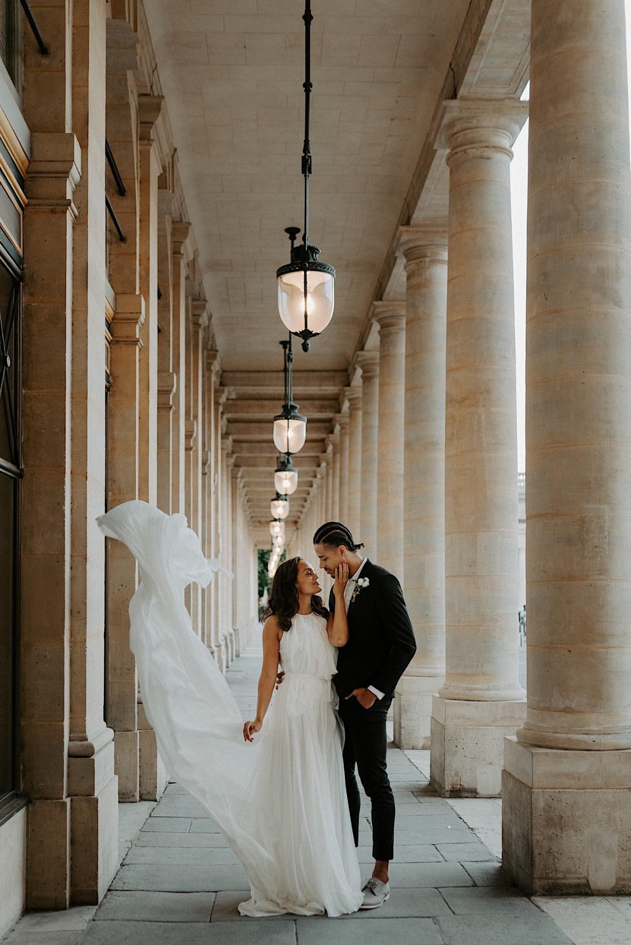 Paris Louvre Wedding Photos Paris Wedding Photographer Destination Wedding France Anais Possamai Photography 04