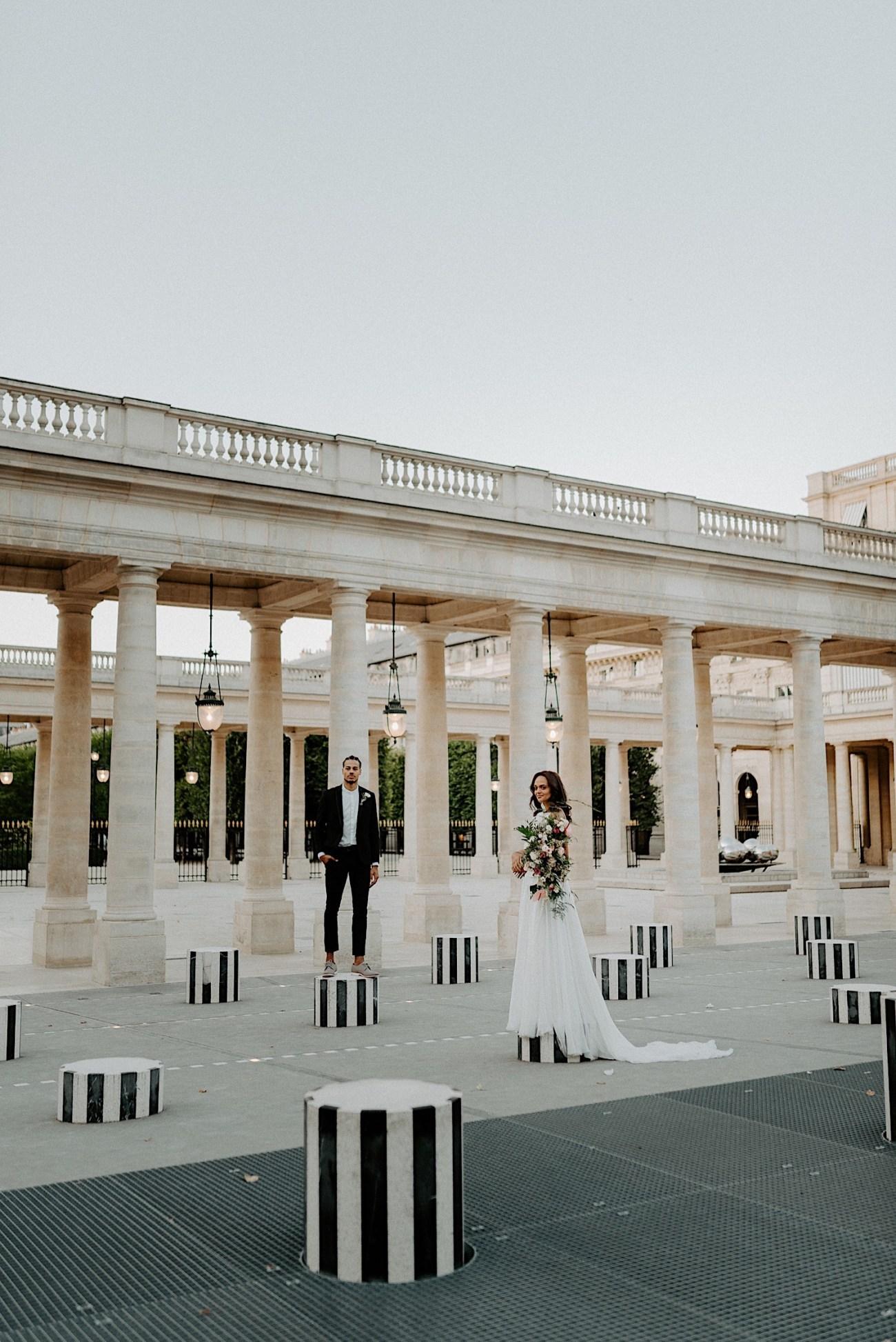 Paris Louvre Wedding Photos Paris Wedding Photographer Destination Wedding France Anais Possamai Photography 10