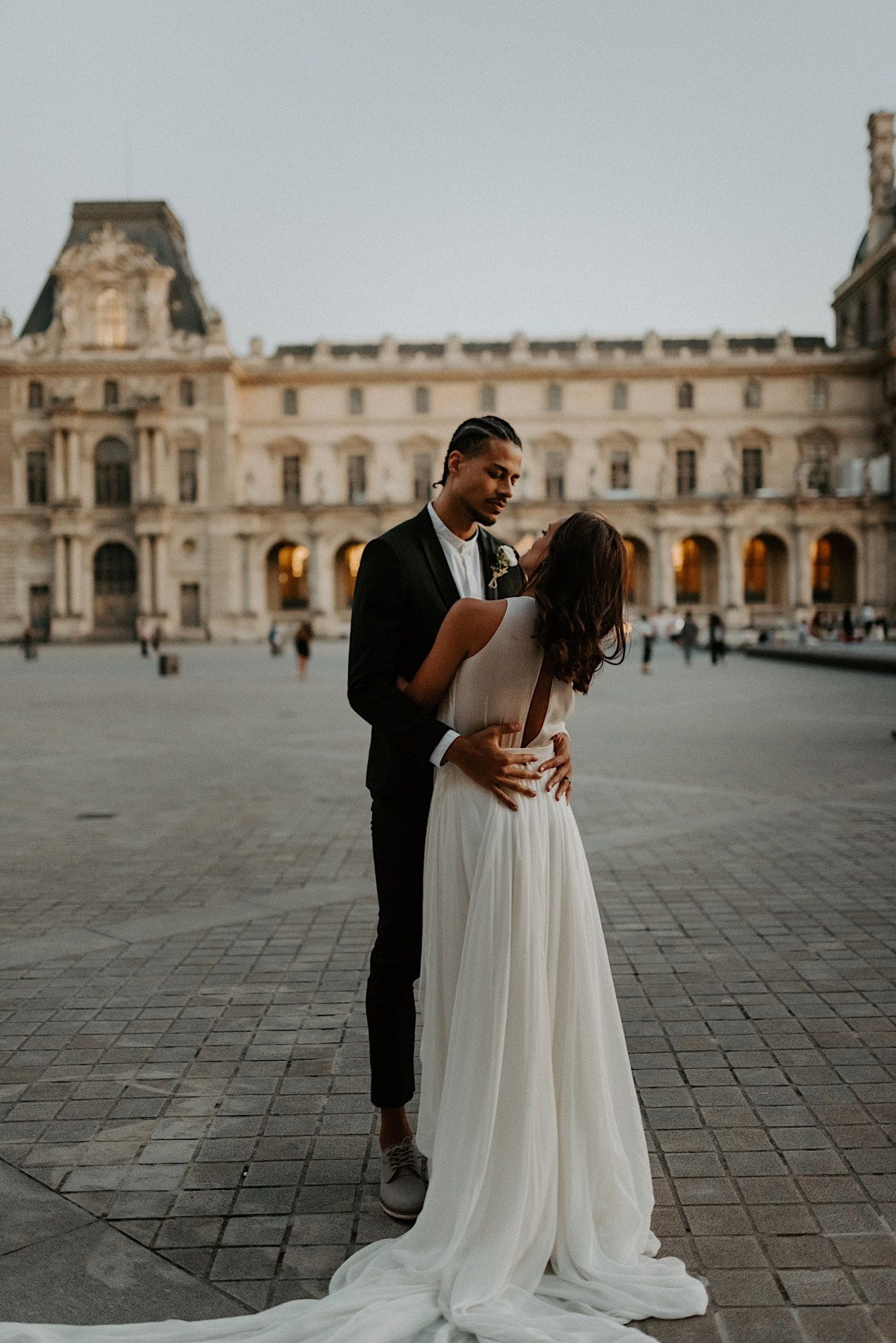 Paris Louvre Wedding Photos Paris Wedding Photographer Destination Wedding France Anais Possamai Photography 33