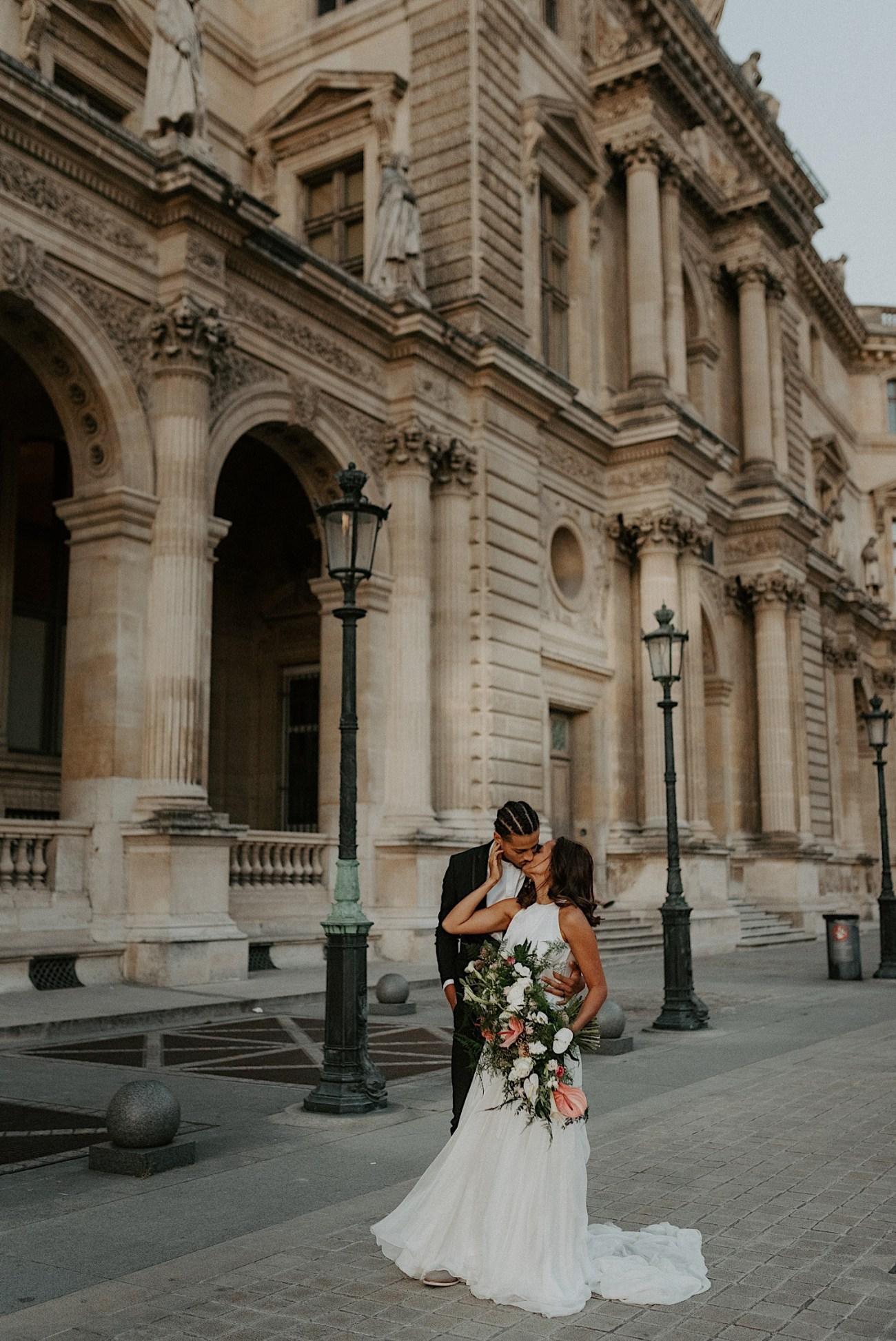 Paris Louvre Wedding Photos Paris Wedding Photographer Destination Wedding France Anais Possamai Photography 37