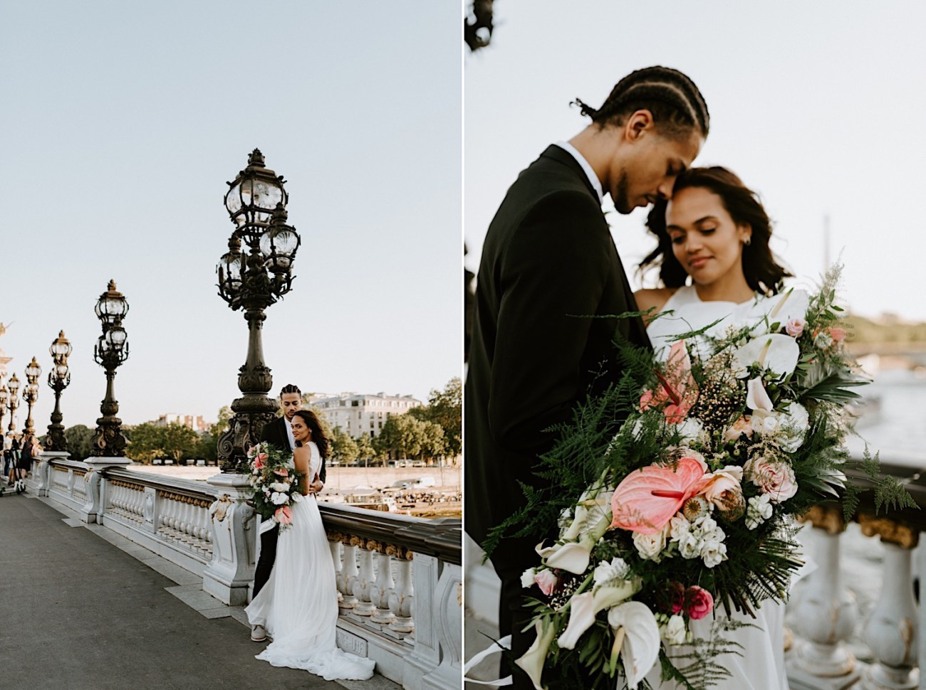 Paris Wedding Photos Paris Wedding Photographer Paris Photographe De Marriage Pont Alexandre Wedding Photos Anais Possamai Photography 28