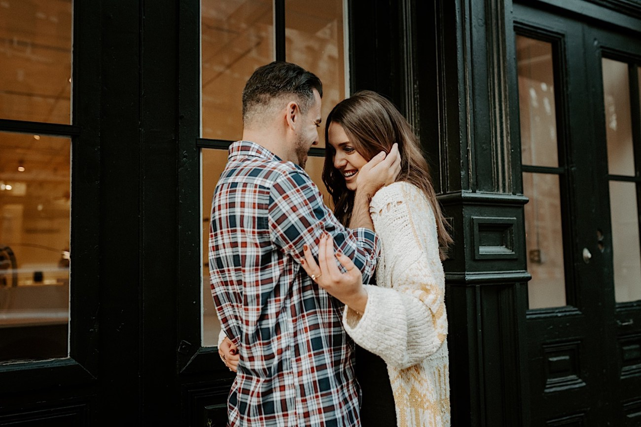 Tribeca Engagement Session NYC Engagement Photos New York Wedding Photographer 22