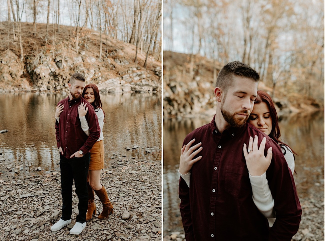 Tyler State Park Engagement Session Philadelphia Wedding Photographer Philadelphia Engagement Session 05
