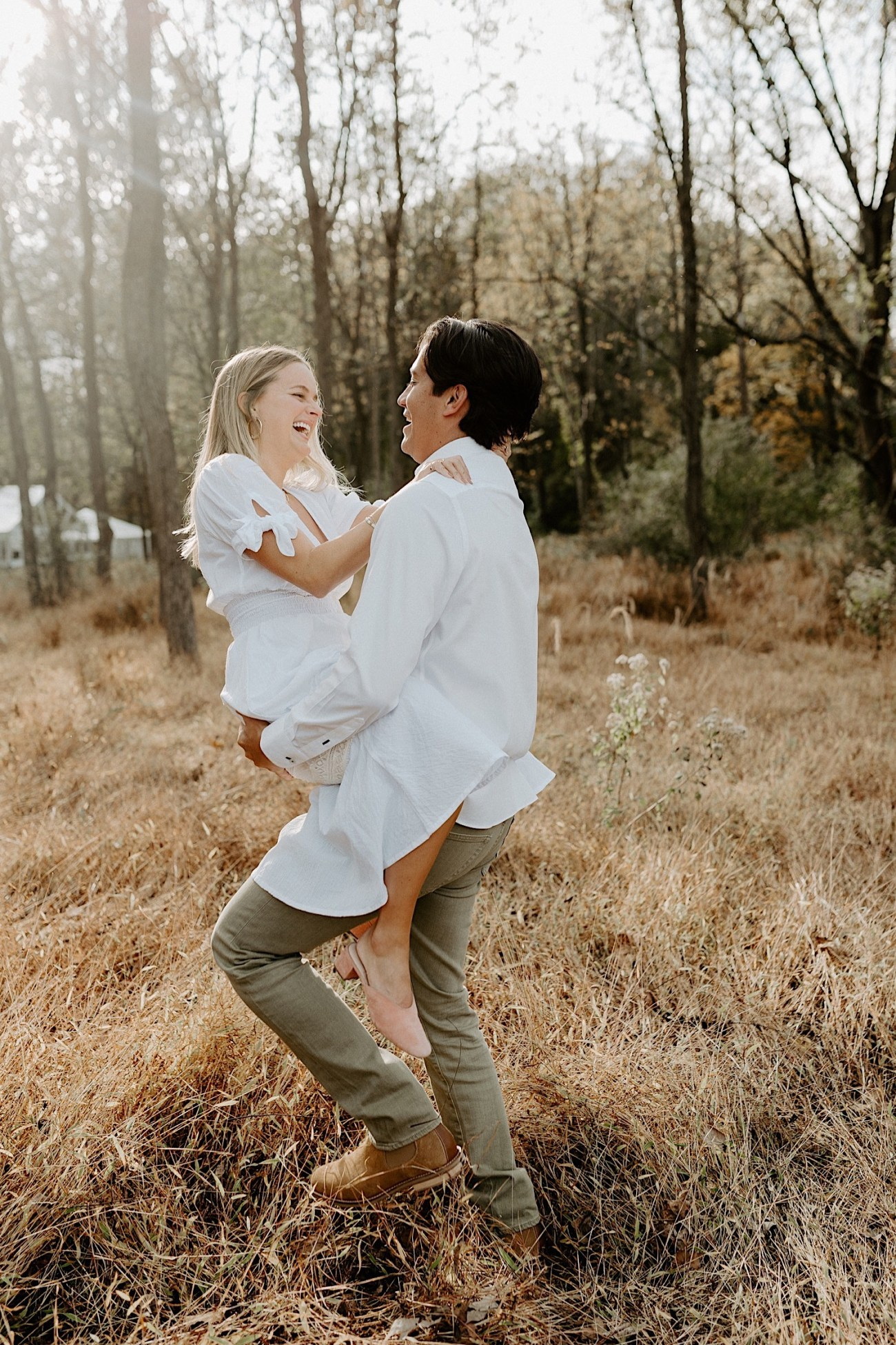 Woolverton Inn Engagement Session Fall Couple Session New Jersey Wedding Photographer 08