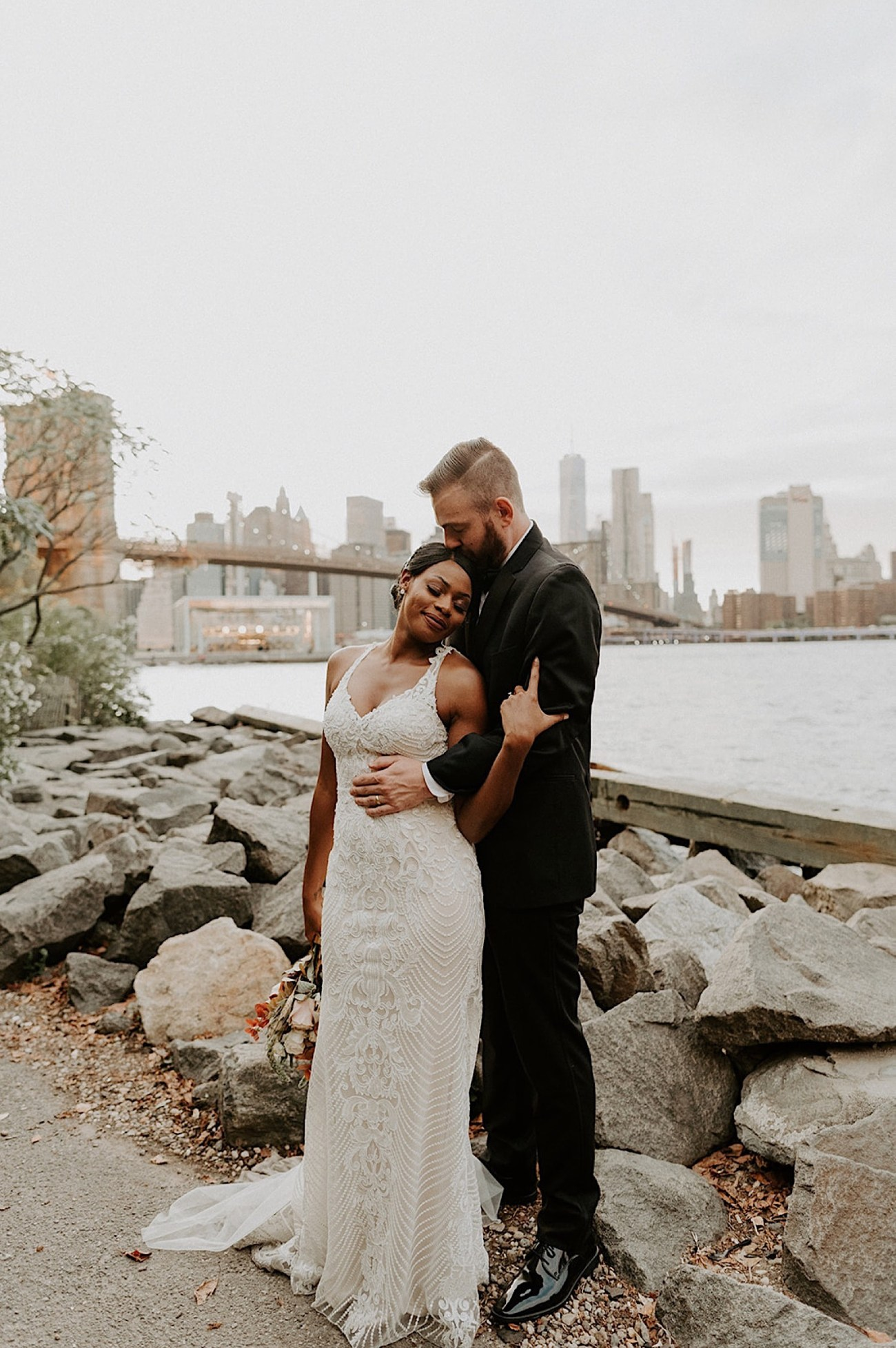 024 Brooklyn Dumbo Elopement Brooklyn Wedding Photographer NYC Wedding Destination Elopement