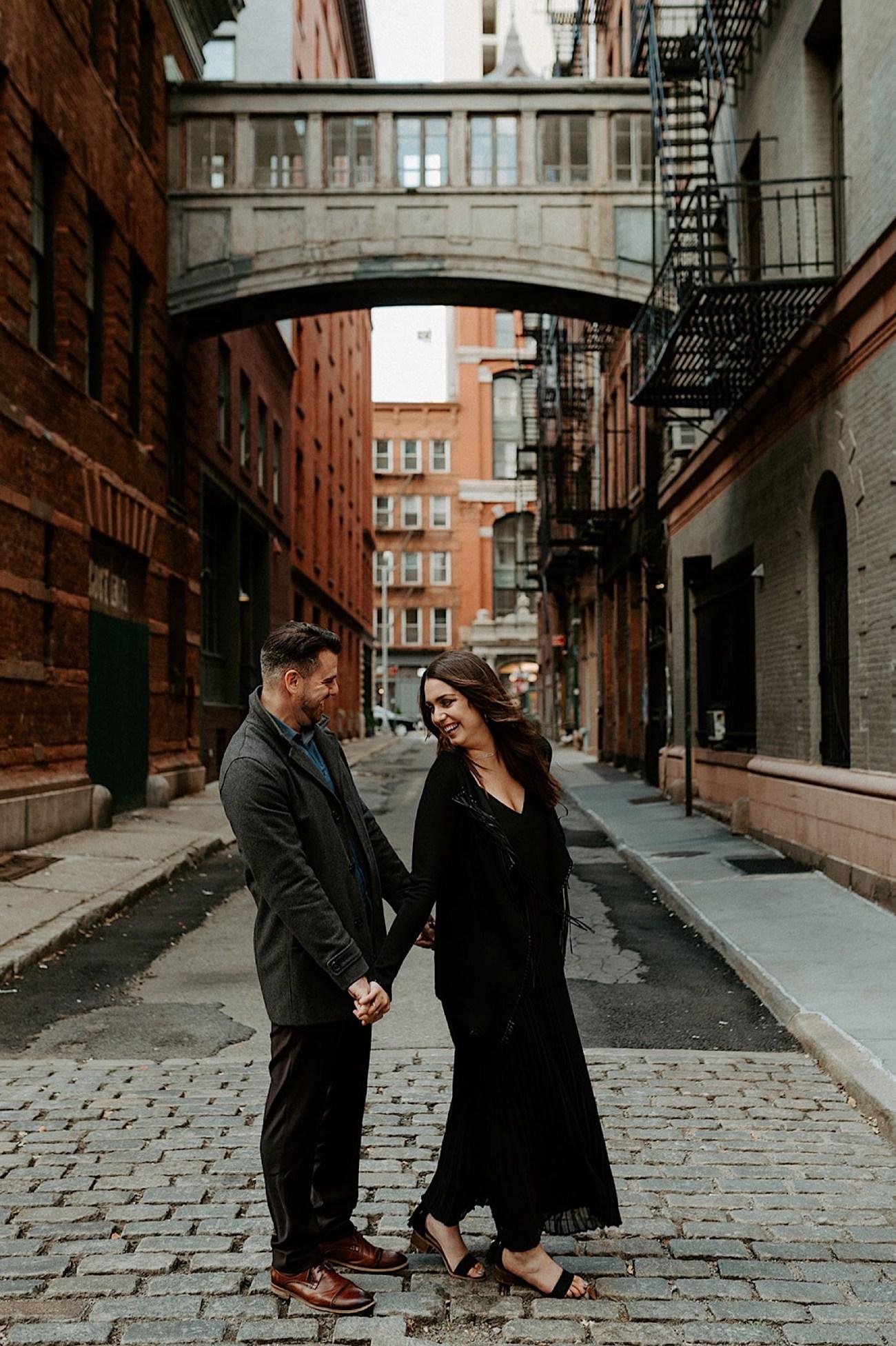 041 Tribeca Engagement Photos Downtown Manhattan Engagement Session NYC Wedding Photographer