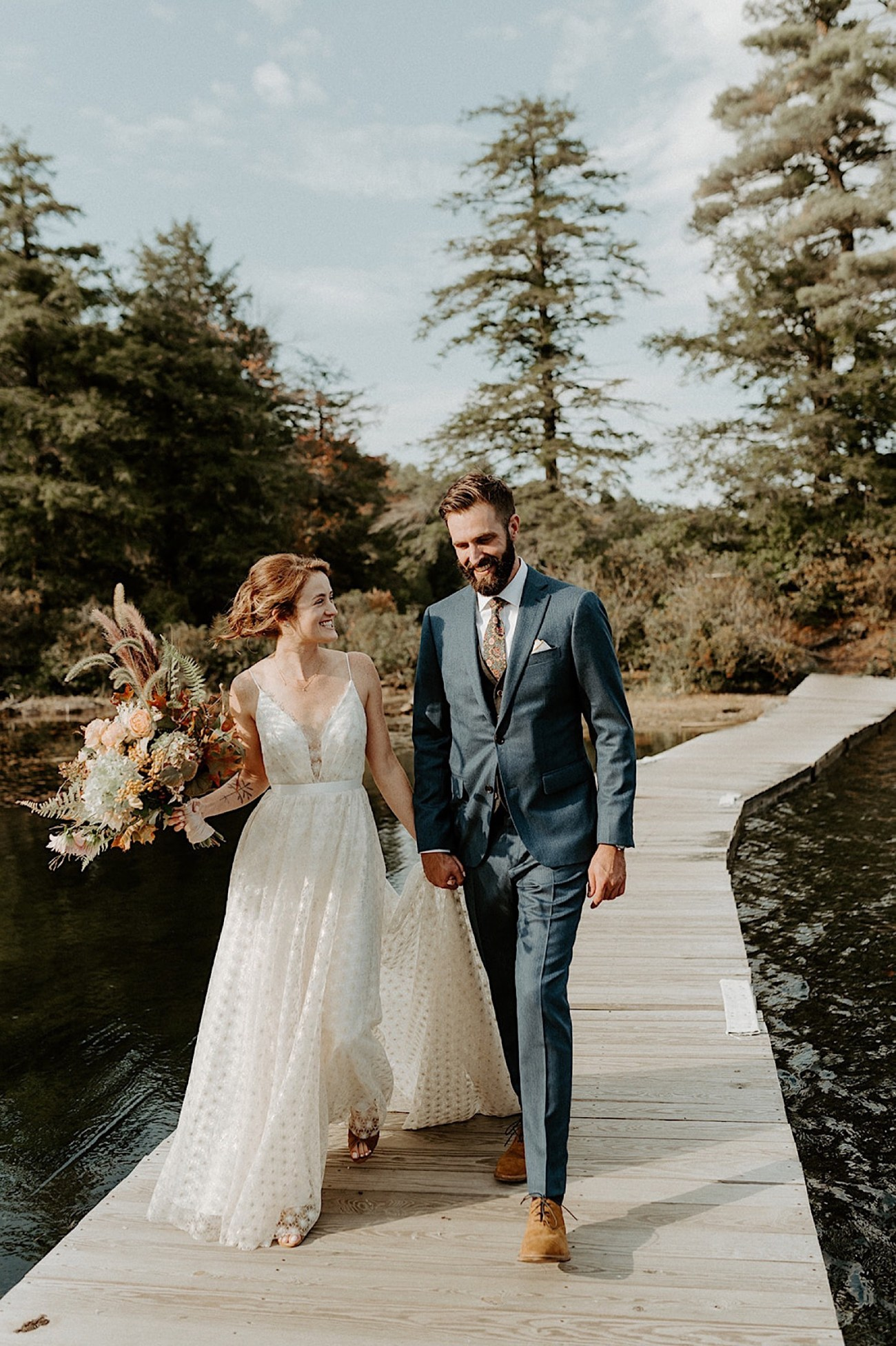 053 Lakeside Wedding Outdoor Wedding Boho Inspiration Wedding Destination Wedding Maine Wedding Connecticut Wedding Photographer Boston Wedding Photographer