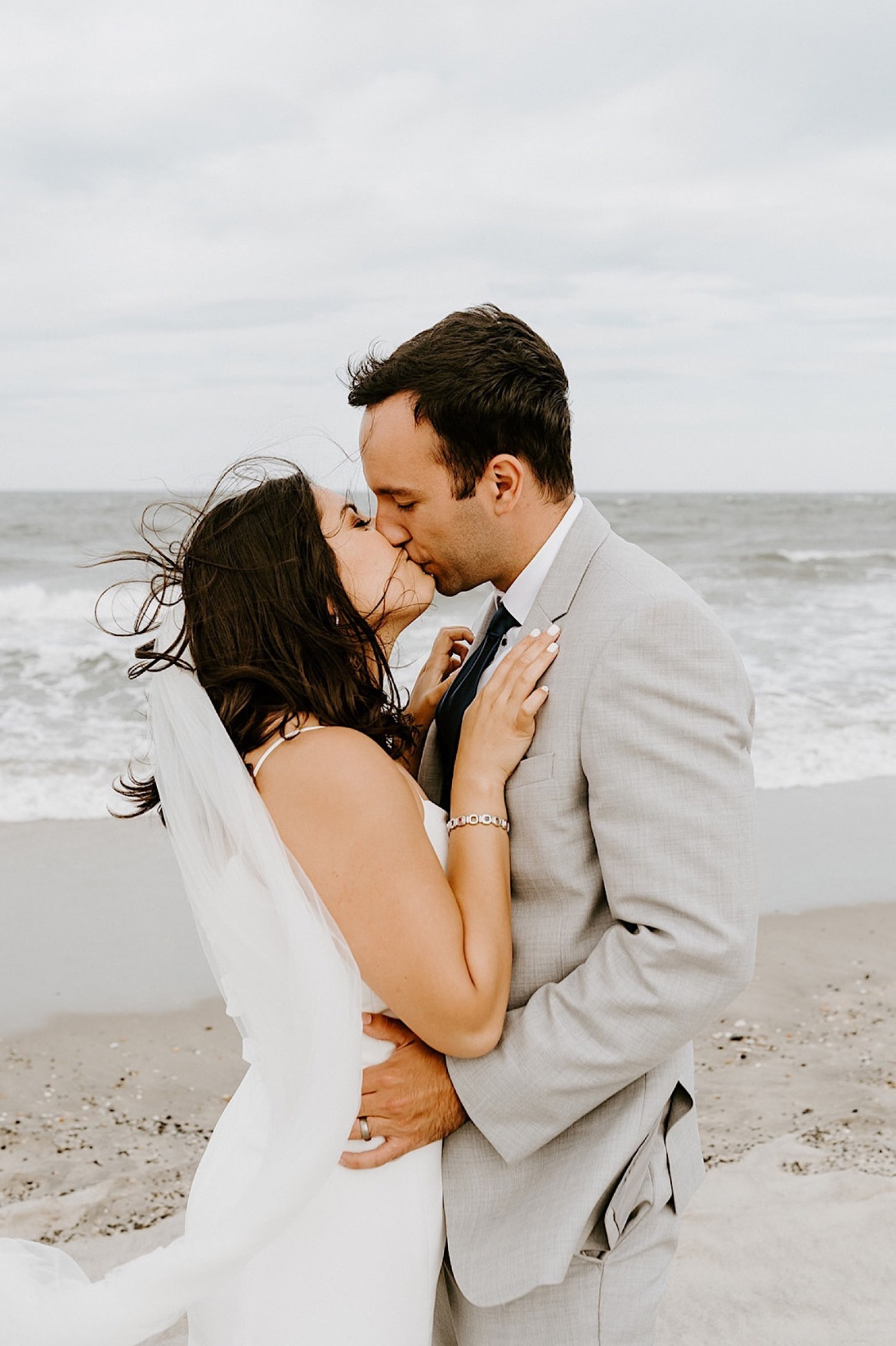 090 Sea Bright Wedding Beach Wedding Photos New Jersey Shore Wedding Nj Wedding Photographer Beach Elopement Photos