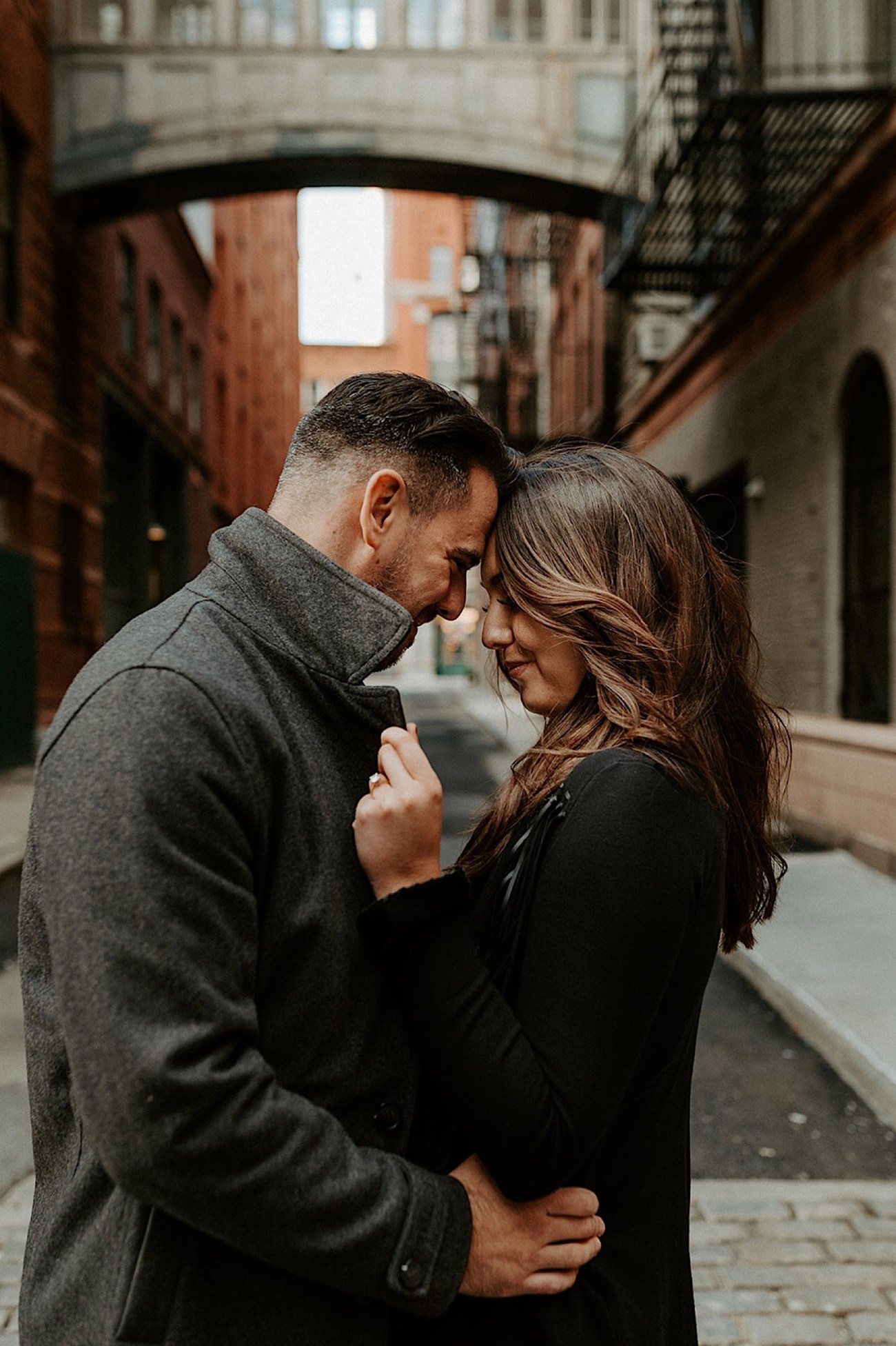 099 Tribeca Engagement Photos Downtown Manhattan Engagement Session NYC Wedding Photographer