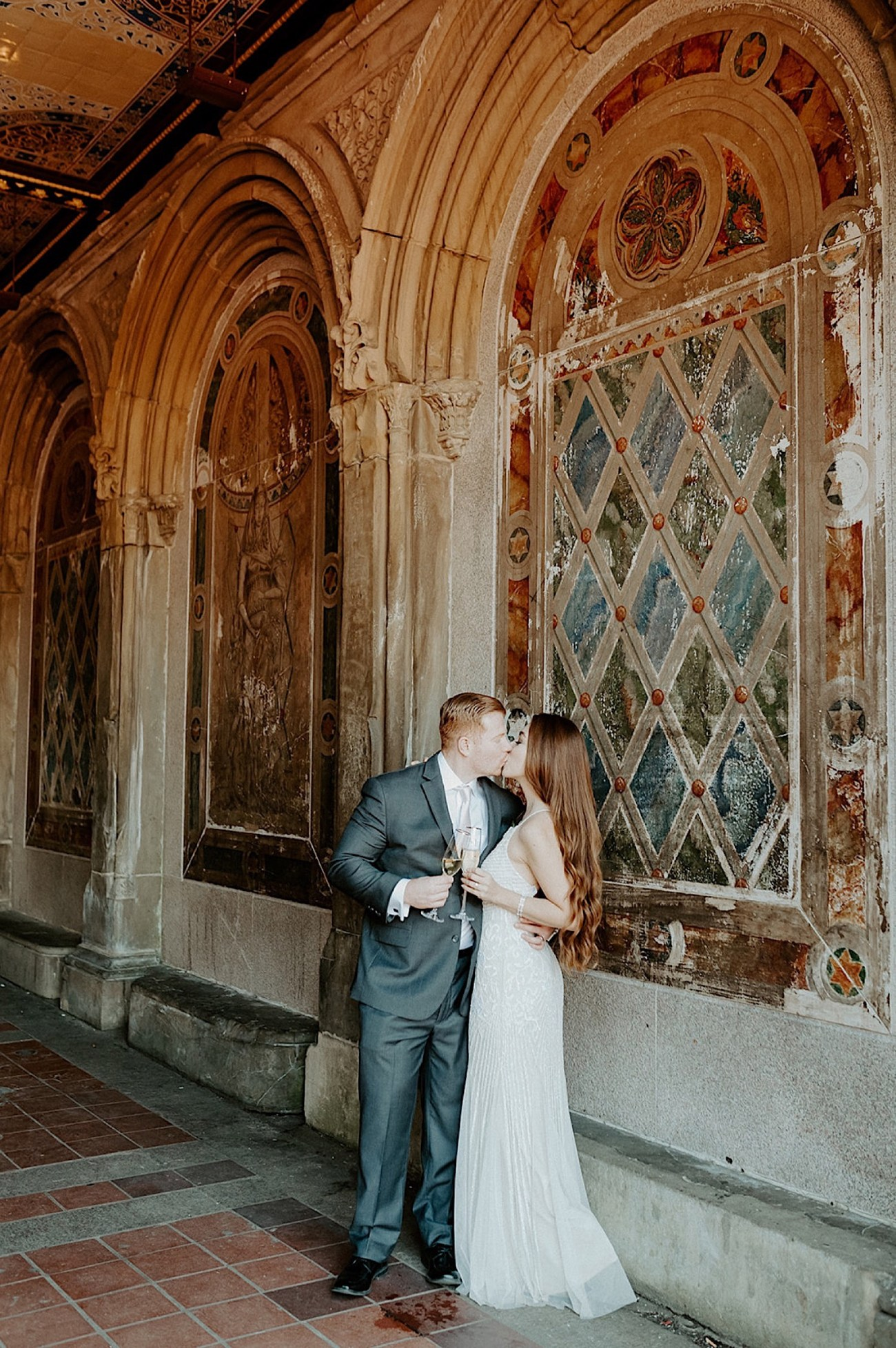 180 Central Park Elopement Bethesda Fountain Wedding Photos New York Wedding Photographer Central Park Wedding Photos