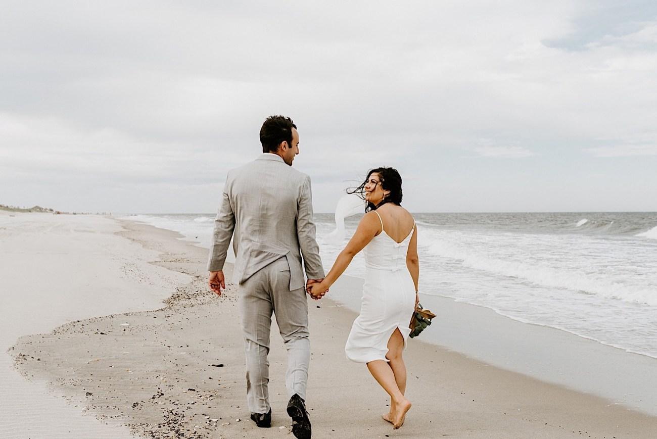 183 Sea Bright Wedding Beach Wedding Photos New Jersey Shore Wedding Nj Wedding Photographer Beach Elopement Photos