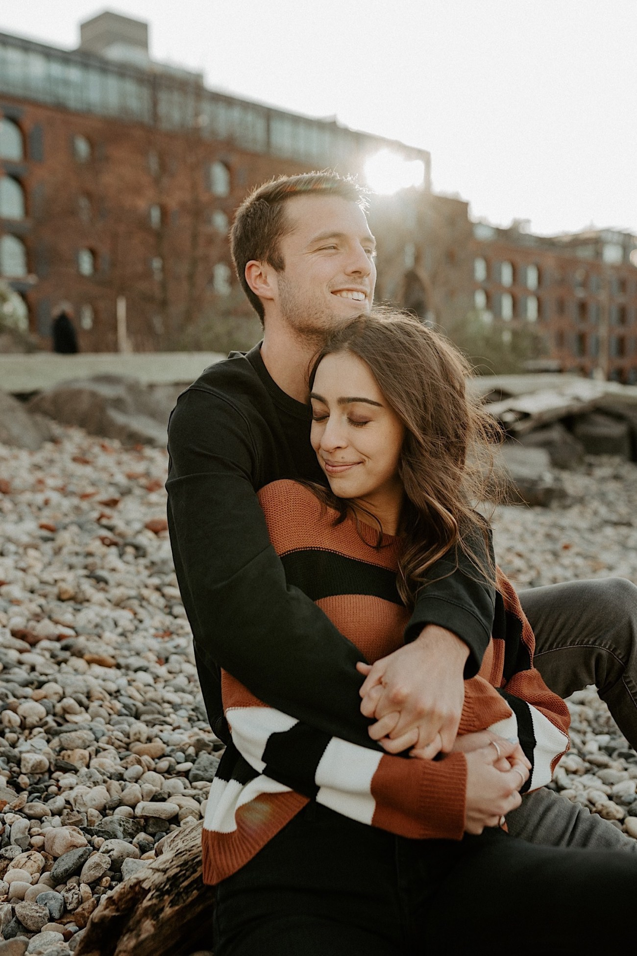 Dumbo Brooklyn Couple Session New York Wedding Photographer Fall Engagement Session NYC Engagement Photos 008