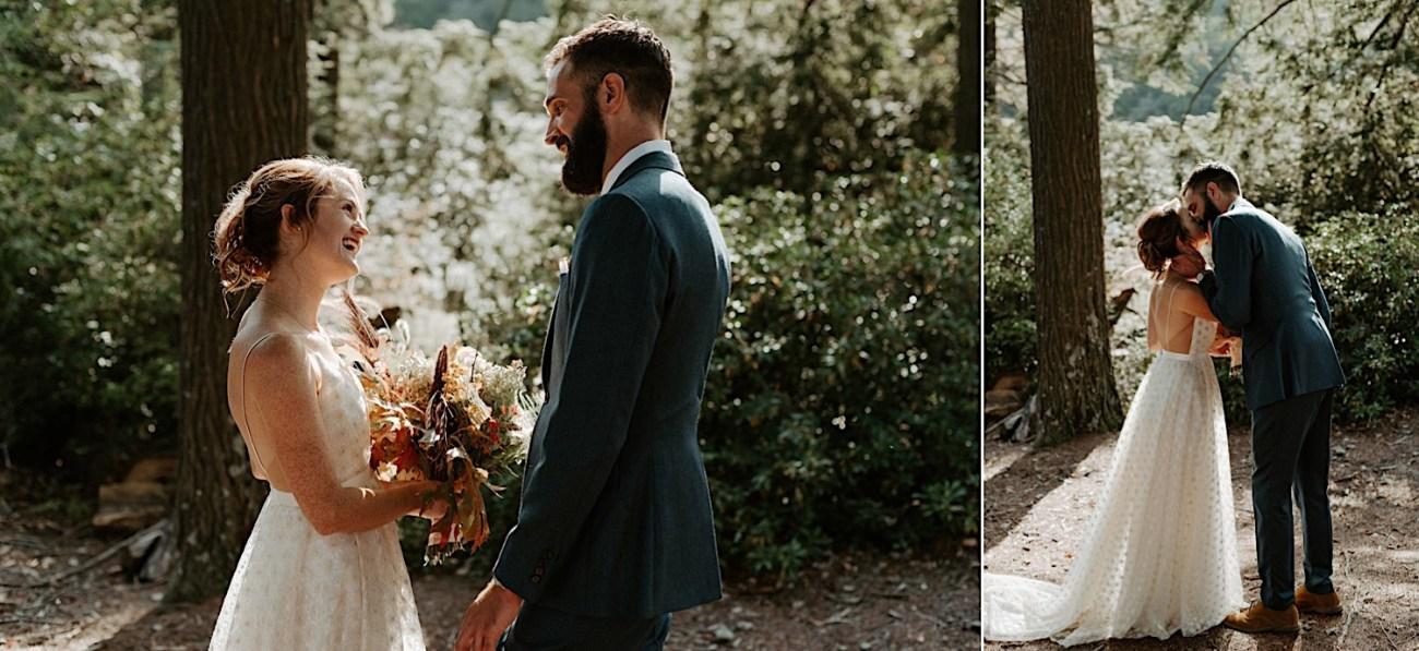 Why You Should Consider A First Look Mt Washington Wedding Lakeside Wedding 002
