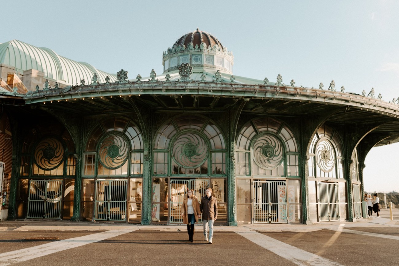 Asbury Park Engagement Photos Winter Beach Engagement Session New Jersey Wedding Photographer Anais Possamai Photography 019
